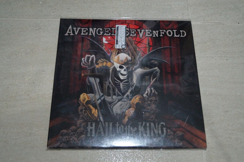 avenged sevenfold hail to the king vinilo rock activity