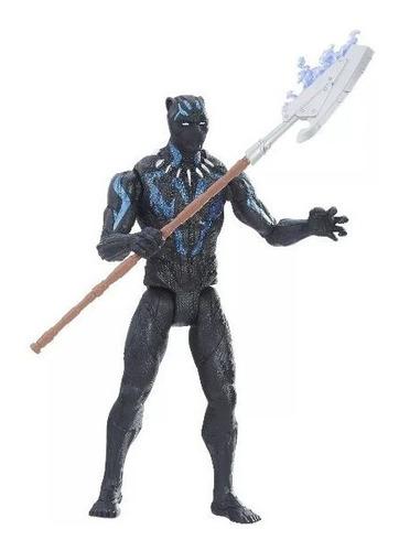 avenger black panther  figura vibranium 15cm