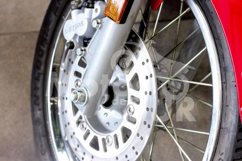 avenger street 220 2017 0 km motos del sur roja