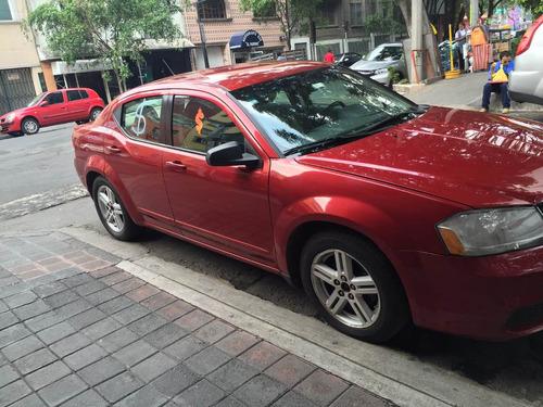 avenger sxt 2008 rojo