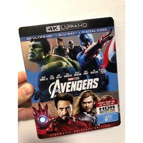 Avengers : Blu Ray 4k + 2d - Combo Pack Ed
