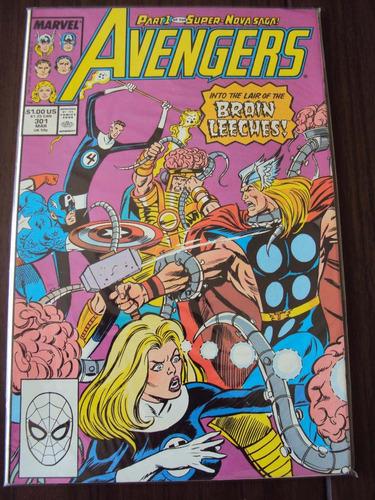 avengers # 301 - 303 - super nova saga - 3 edições