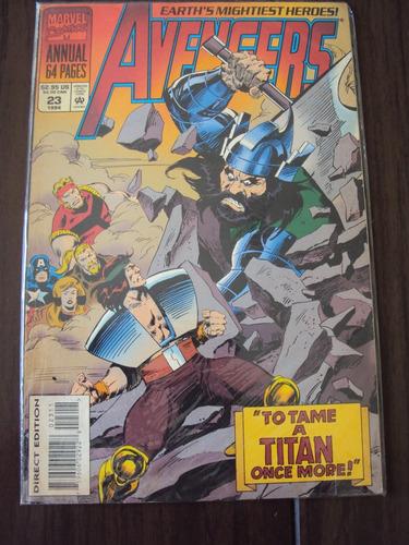 avengers annual # 23 - marvel comics - importada