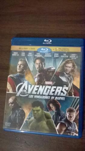 avengers bluray + dvd + copia digital
