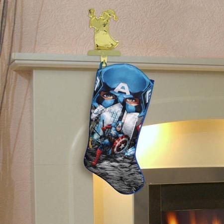 avengers bota navideña capitan america nueva de importación.