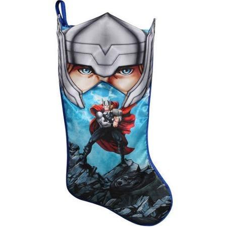 avengers bota navideña de thor marvel nueva de importación.