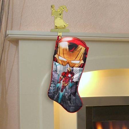 avengers bota navideña ironman marvel nueva de importación.