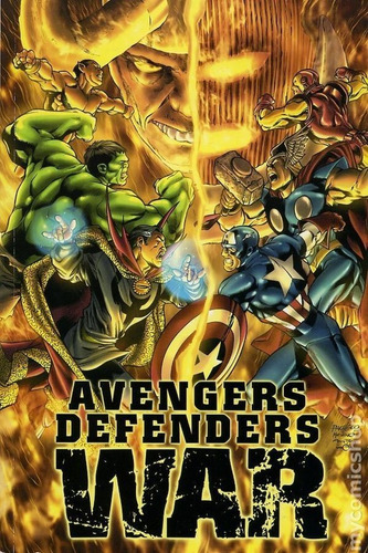 avengers defenders war (1973) cómics digital español