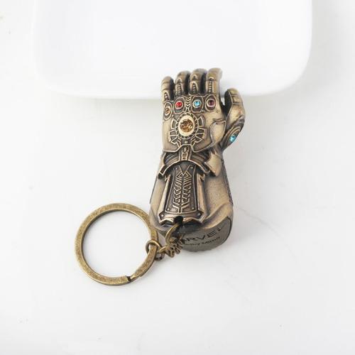 avengers dije llavero thanos guante del infinito puño power