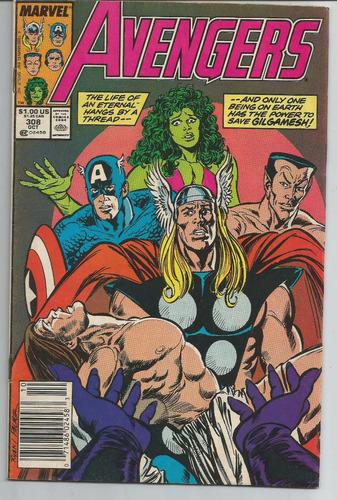 avengers - em inglês - outubro de 1989.