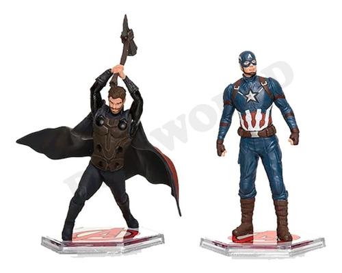avengers end game figuras marvel original 9 pcs disney