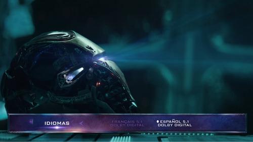 avengers endgame 2d ó 3d 3 bluray arma tu colección marvel
