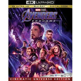Avengers Endgame 4k Ultra Hd + Blu-ray Original Imp En Stock