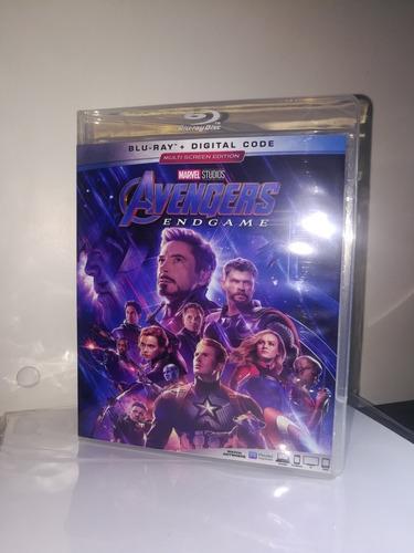 avengers endgame bd25 producto nacional (incluye disco bonus
