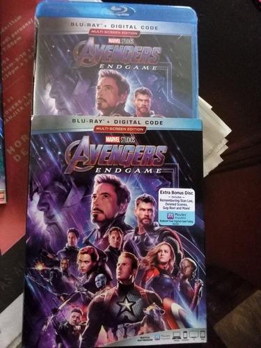 avengers endgame blu ray nuevo+ escenas nuevas en stock