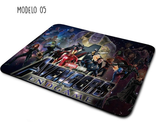 avengers endgame thanos mouse pad varios modelos