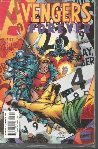 avengers forever pt 04 de 12 - marvel - bonellihq cx177a b18