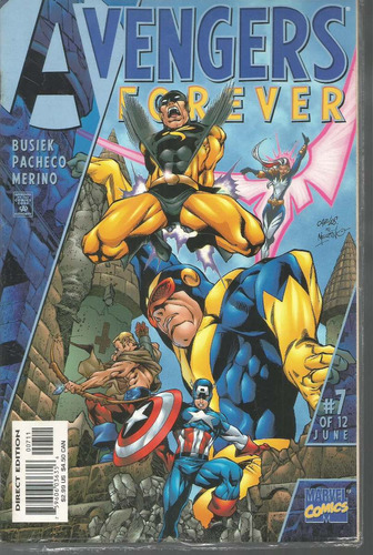 avengers forever pt 07 de 12 - marvel - bonellihq cx177a b18