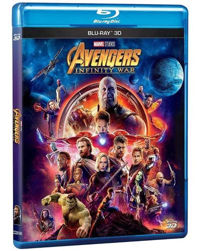 avengers infinity war blu-ray 3d original nuevo en stock