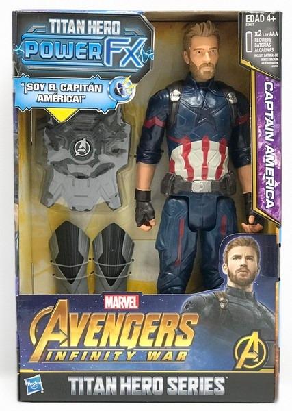 Avengers Infinity War Capitan America Sonid Frases E0607