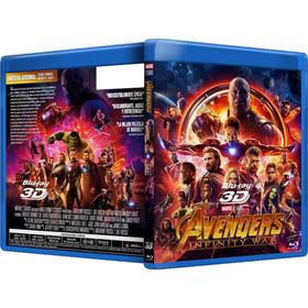 Avengers Infinity War Peliculas Blu Ray 2d Y 3d