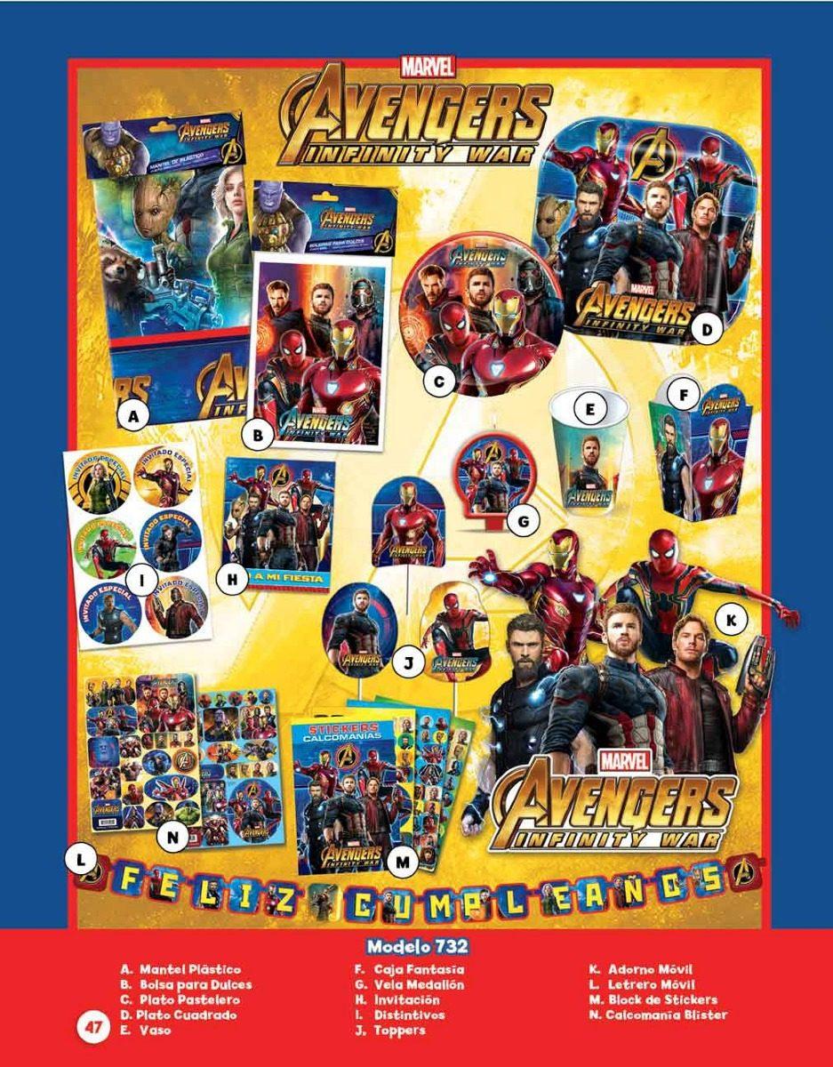 Avengers Decoracion Para Fiesta Www Miifotos Com