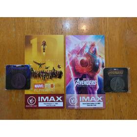 Avengers Infinity War Y Endgame Fan Event Medallas Exclusiva