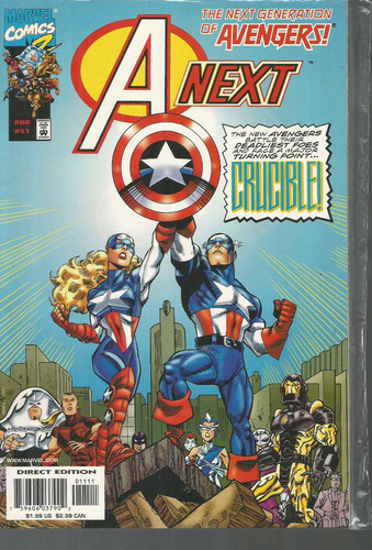 avengers next generation 11 - marvel - bonellihq cx177a  b18