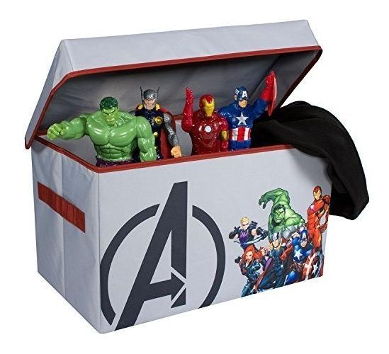 Para Po Niños Cofre Almacenamiento Juguete Avengers Plegable TKlF1Jc