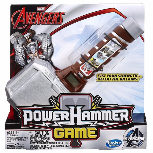avengers power hammer game hasbro martillo thor sonido b0855