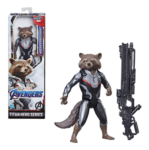 avengers rocket raccoon titan hero series de hasbro.