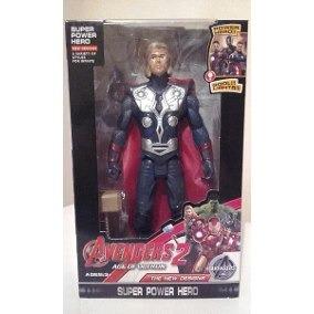 avengers thor figura de 20 cm con luz