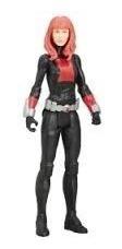 avengers titan black widow héroe hasbro viuda negra 30cm