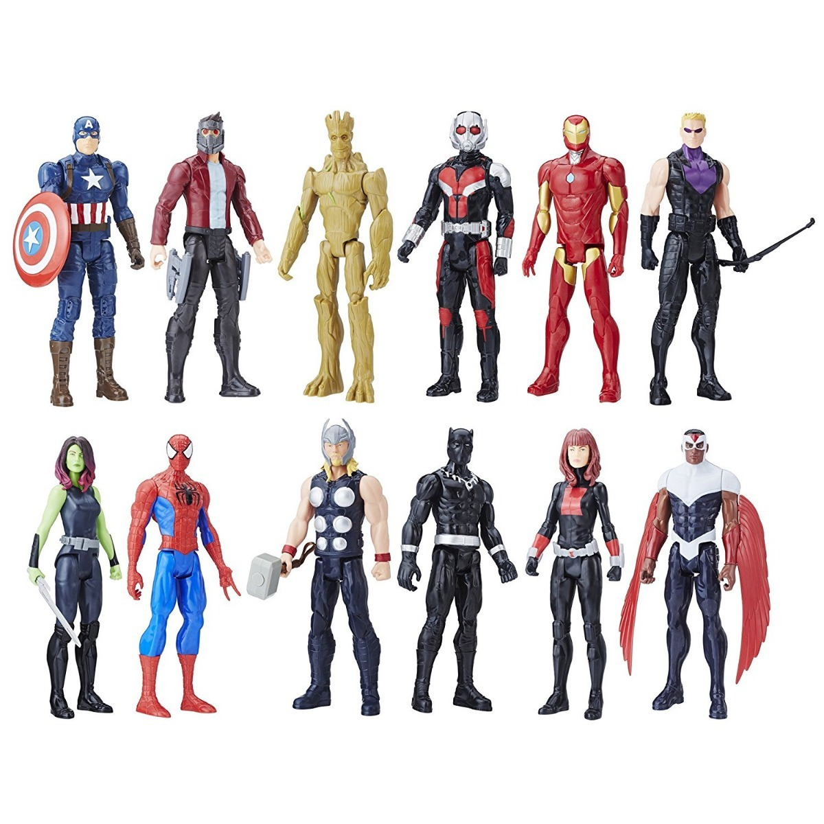 Avengers Titan Hero Series Paquete De 12 Personajes