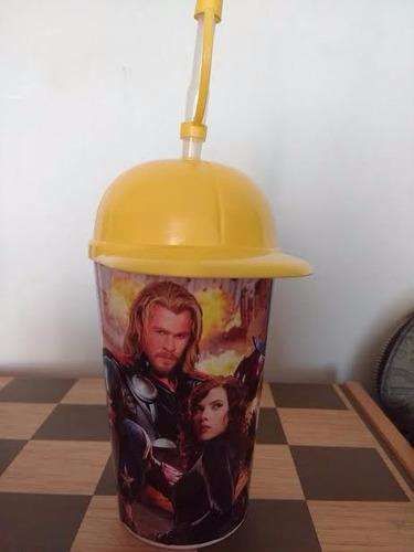 avengers vaso pitillo avengers piñatas sorpresas