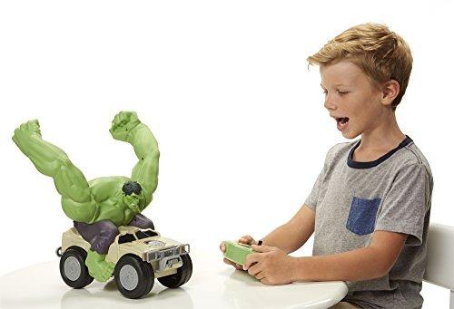avengers: vehiculo de juguete xpv marvel-rc hulk smash
