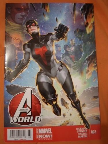 avengers world comics marvel now 1-9 completa