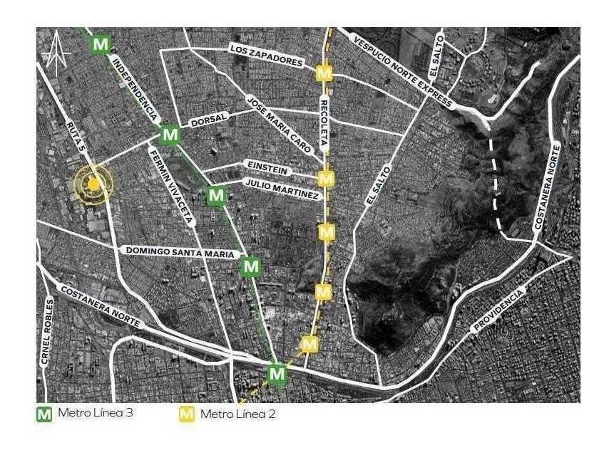 avenida presidente eduardo frei montalva / avenida dorsal
