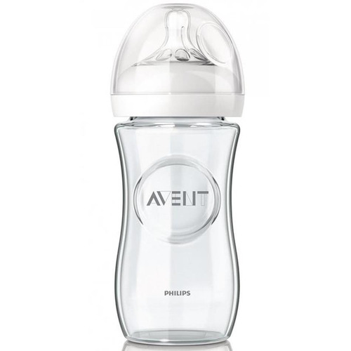 avent - biberon natural de vidrio 240 ml