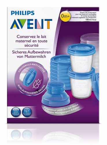 avent extractor manual más kit 10 vasos para leche materna