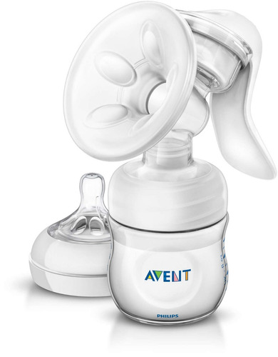 avent - set extractor manual + vaso almacenamiento leche