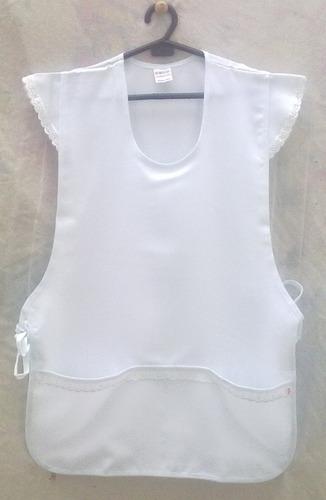 avental  bata jaleco feminino cores com bolsos tamanho ùnico