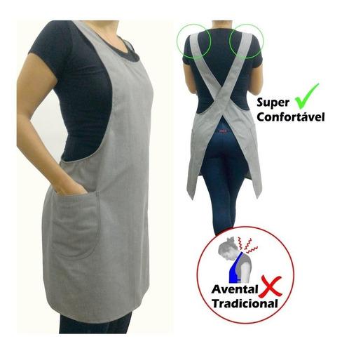 avental brim ou jeans - super confortável - diversas cores