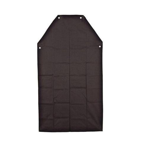 avental de pvc preto com forro multiuso vonder
