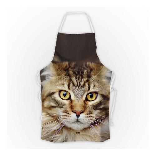 avental gato maine coon