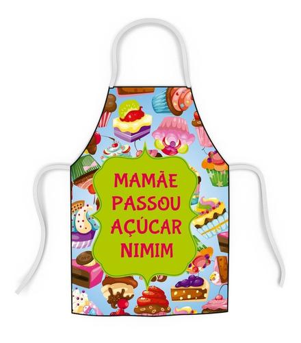 avental mamãe passou açúcar divertido - em promoção barato