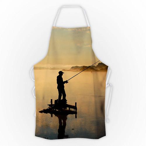 avental pesca esportiva sunset