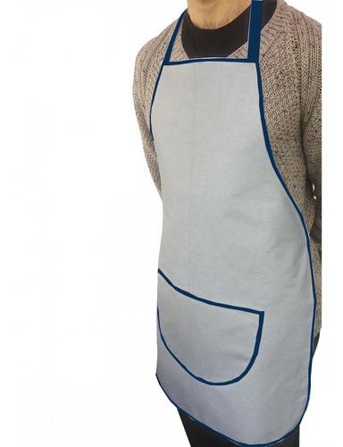 avental térmico longo almofadado silver´s 64 x 110