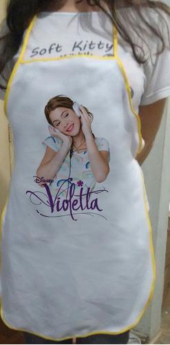 avental violetta personalizado
