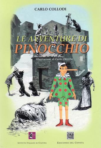 aventura de pinocho en italiano ilustrado collodi (co)